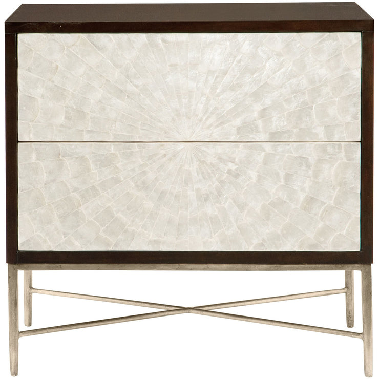 Adagio Two Drawer Nightstand