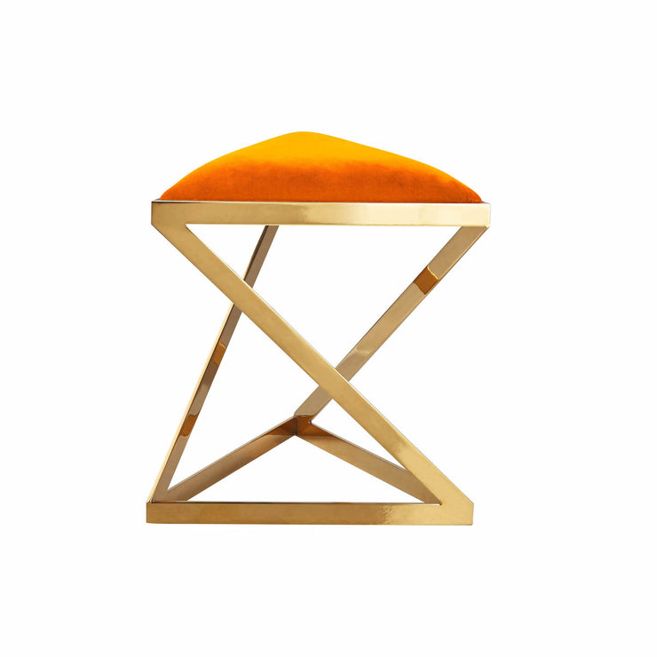 Hoopla Triangle Stool - Orange