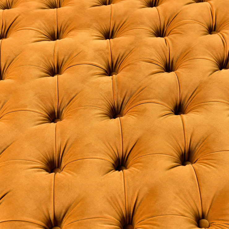All Of Me Ottoman - Mustard