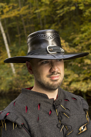 Witch Hunter Hat - Black