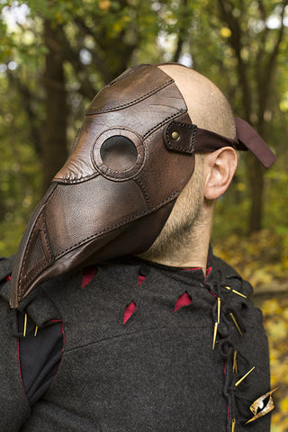 Plague Doctor Mask - Brown