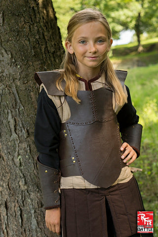 RFB Armour Leather - Brown - Small
