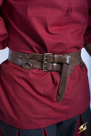 Twin Belt - Brown - 120cm