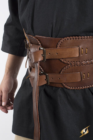 Broad Belt - Brown