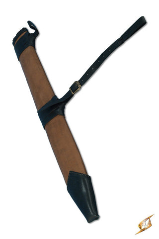Full Scabbard Medium - Right Handed - Brown