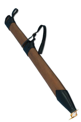 Full Scabbard Large - Right Handed - Brown