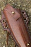 Woodsman Knife Holder - Brown