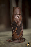 Laced Bottle Holder - Brown