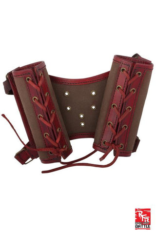 RFB Double Sword Harness - Red/Brown