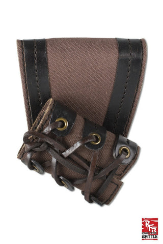 RFB Small holder - Brown - Black