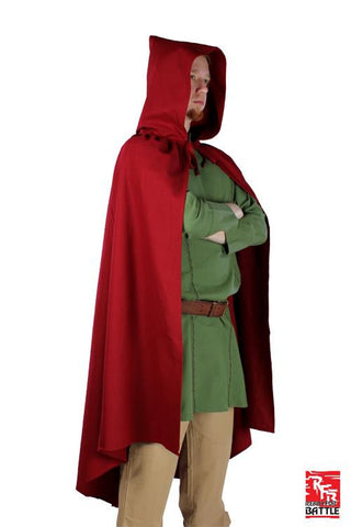RFB Cape - Dark Red