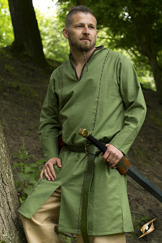 Elven Tunic - Dryad Green