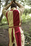 Basic Tabard - Dark Red / Desert Beige