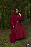 Robe Benedict - Dark Red
