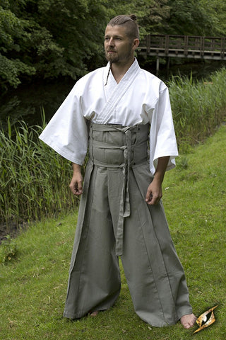 Samurai Pants - Gray/Epic Black