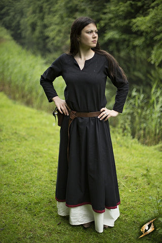 Basic Dress - Epic Black/Dark Red