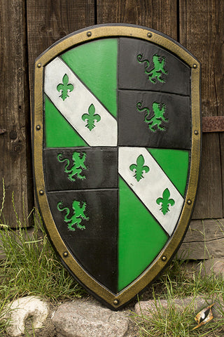 Lion Shield - Green