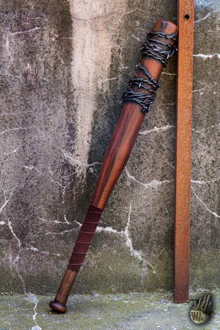 Barbed Wire Bat - 80 cm - Wood