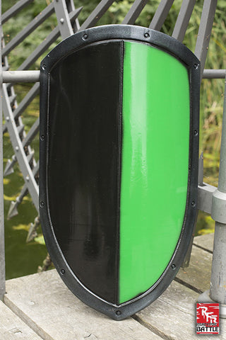 RFB Kite Shield Black - Green