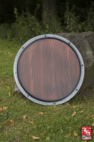 RFB Round Shield - Wood