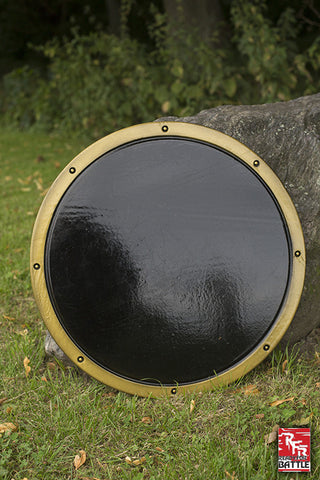RFB Round Shield - Black - Gold