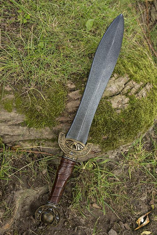 Celtic Leaf Sword - 60cm