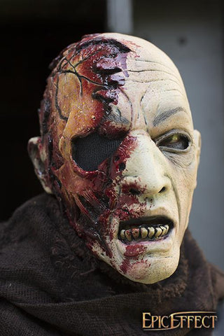 Half Face Zombie - Skin Color