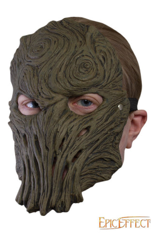 Wood Trophy Mask
