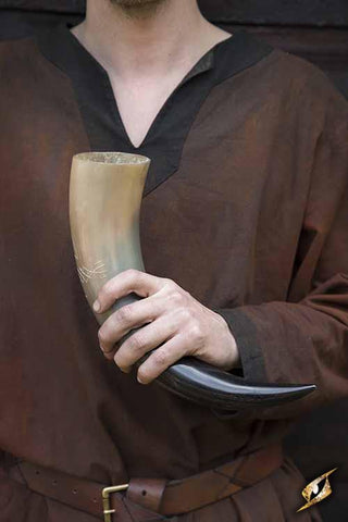 Druid Drinking Horn 500 ml Light