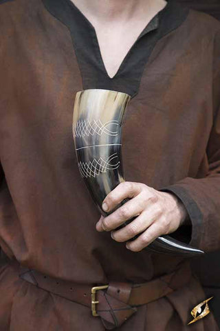 Chieftain Drinking Horn 500 ml Light