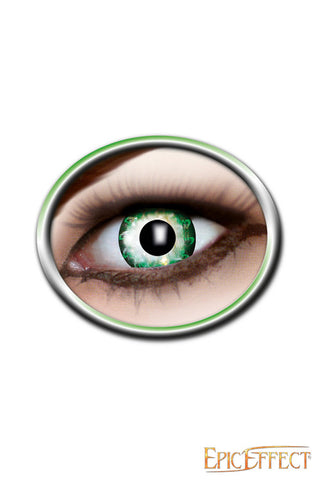 Two Tone Lenses - Bright Green