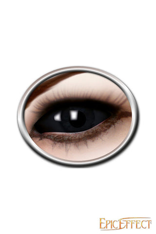 Sclera Eye Lenses - Black Eye