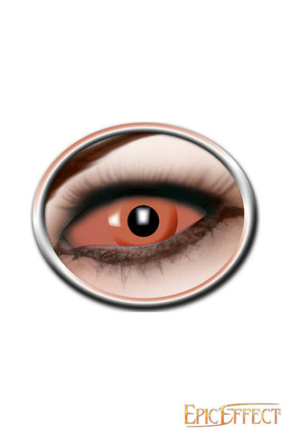 Sclera Eye Lenses - Orange Eye