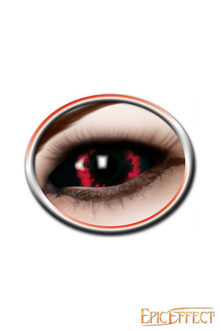 Sclera Eye Lenses - Red Demon