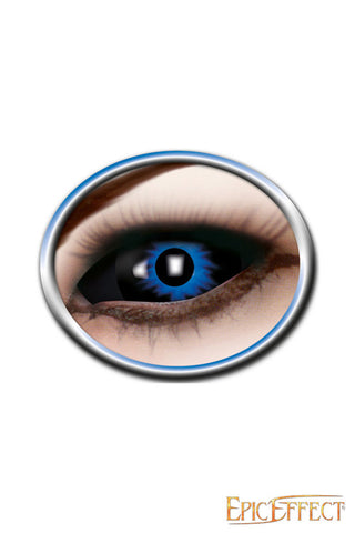 Sclera Eye Lenses - Blue Demon