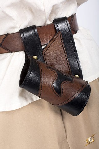 Holder - Haste - Black/Brown - Right handed
