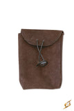 Leatherbag Thin - Brown - Small