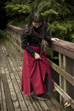 Battle Skirt - Dark Red