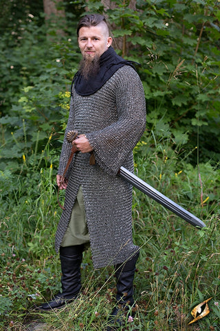 Chainmail - Long Sleeved - Rivetted - Non Galvinised