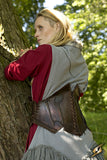 Dark Elf Corset - Dark Brown - Brown