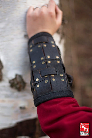 RFB Fighter Bracers - Black