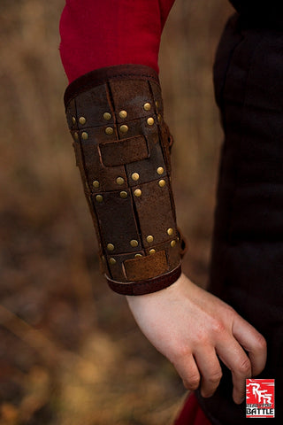 RFB Fighter Bracers - Brown