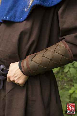 RFB Viking Bracers - Brown