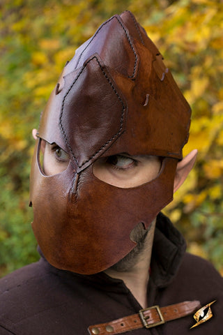 Assassin Helmet - Brown