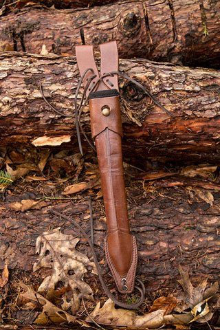 Dagger Scabbard - Brown - USED