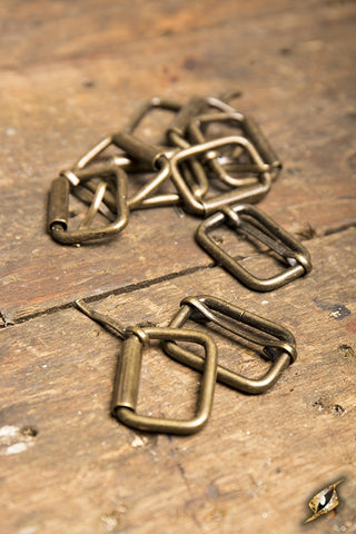 Buckles metal Antique  (Bag of 10)