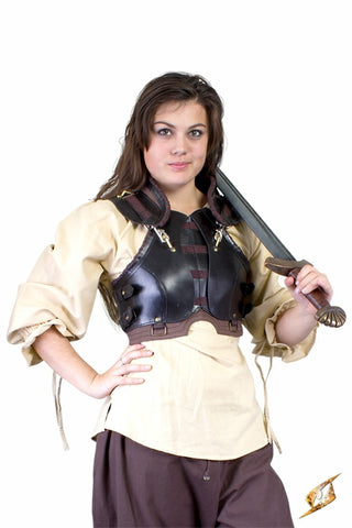 Rogue Female Armour - Black/Brown - Medium/Large