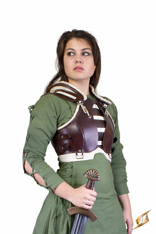 Rogue Female Armour - Brown/Beige - Medium/Large