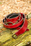 Sword Belt - Red