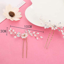 Bridal Pearl-like Fashion Hairpin (1pcs)